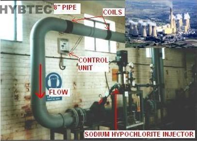 国外某火力发电电厂冷却塔的应用案例